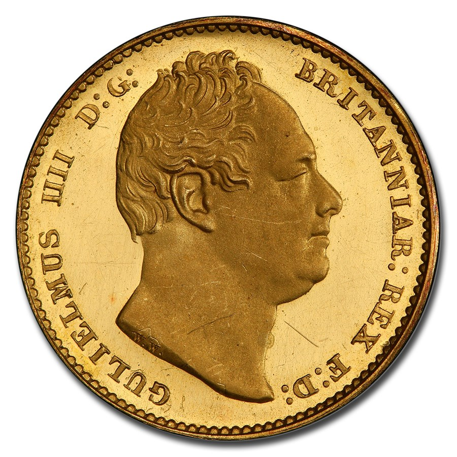 1831 Great Britain Gold Sovereign William IV PR-63 DCAM PCGS
