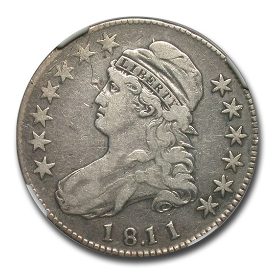 1811/10 Capped Bust Half Dollar Fine-12 NGC (O-101)