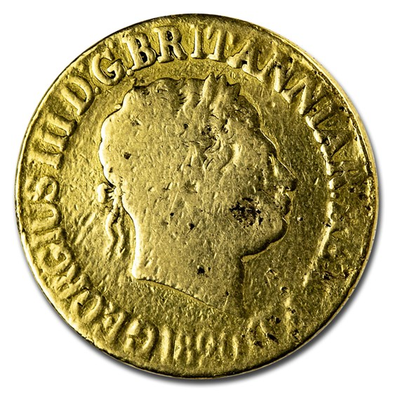 1820 Great Britain Gold Sovereign George III Avg Circ