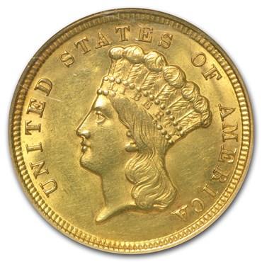 $3 Gold Coin Princess