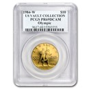 1984-W Gold $10 Commem Olympic PR-69 PCGS