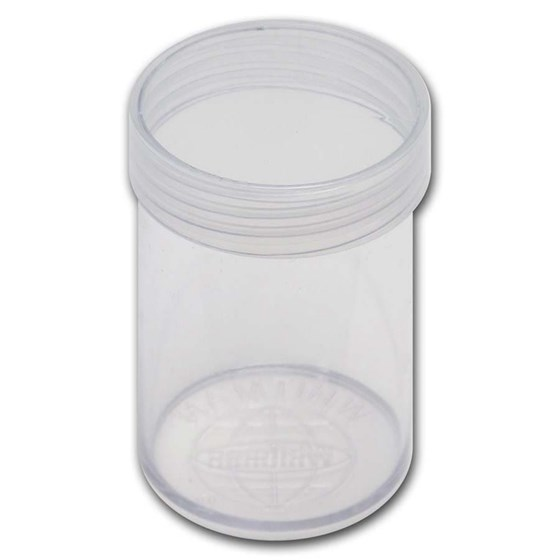 38 mm Large Dollar Size Round Coin Tube