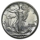 1942-S Walking Liberty Half Dollar BU