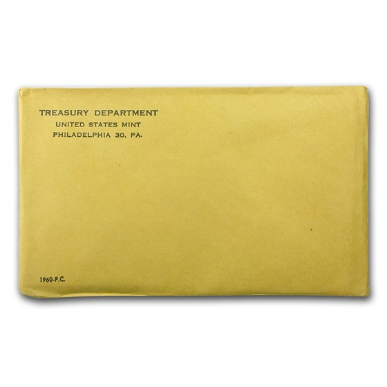 1960 U.S. Proof Set (Sealed Mint Envelope)