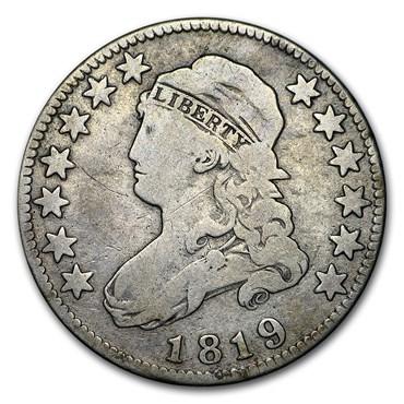 Bust Quarter (1796-1838) obverse