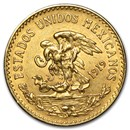 1919 Mexico Gold 20 Pesos AU