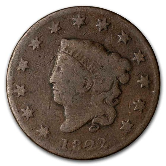 1822 Large Cent Good