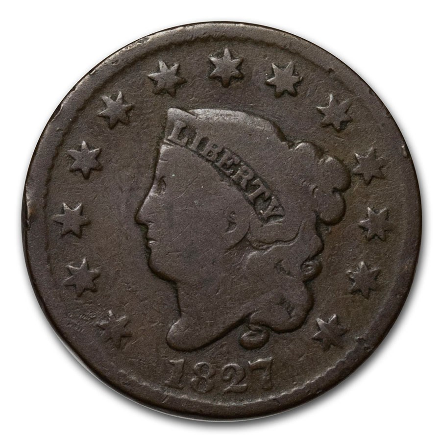 1827 Large Cent Good