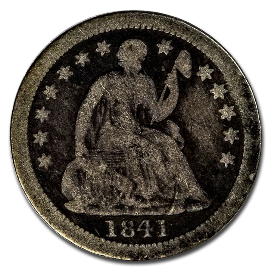 1841-O Liberty Seated Half Dime Good