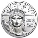 2008 1/4 oz Platinum American Eagle BU