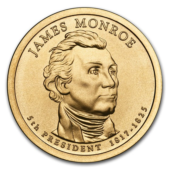 2008-P James Monroe Presidential Dollar BU