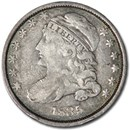 1835 Capped Bust Dime Fine