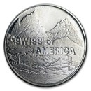 1974 1 oz Silver Round - Swiss of America (Draper Mint)