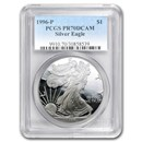 1996-P Proof Silver American Eagle PR-70 PCGS