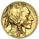 1 oz Gold Buffalo BU Coin (Random Year)