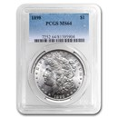 1898 Morgan Dollar MS-64 PCGS