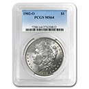 1902-O Morgan Dollar MS-64 PCGS