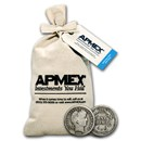 90% Silver Barber Dimes $100 Face Value Bag