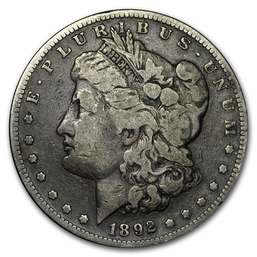 1892-S Morgan Dollar VG