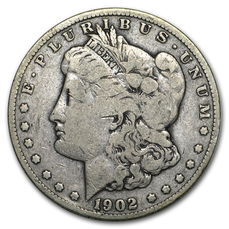 1902-S Morgan Dollar VG