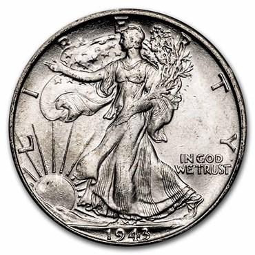 Walking Liberty Half Dollar (1916-1947) obverse