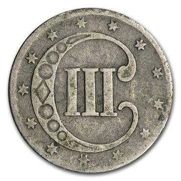Three Cent Silver (1851-1873)