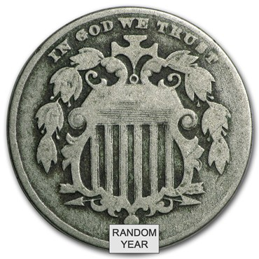 Shield Nickels (1866-1883) obverse