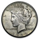 1924-S Peace Dollar XF