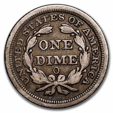 Liberty Seated Dime Reverse