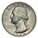 1932-D Washington Quarter AU
