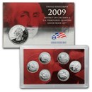 2009 D.C. and U.S. Territories Quarters Proof Set (Silver)