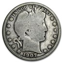 1892-1915 Barber Half Dollars Avg Circ