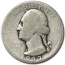 1932 Washington Quarter AG