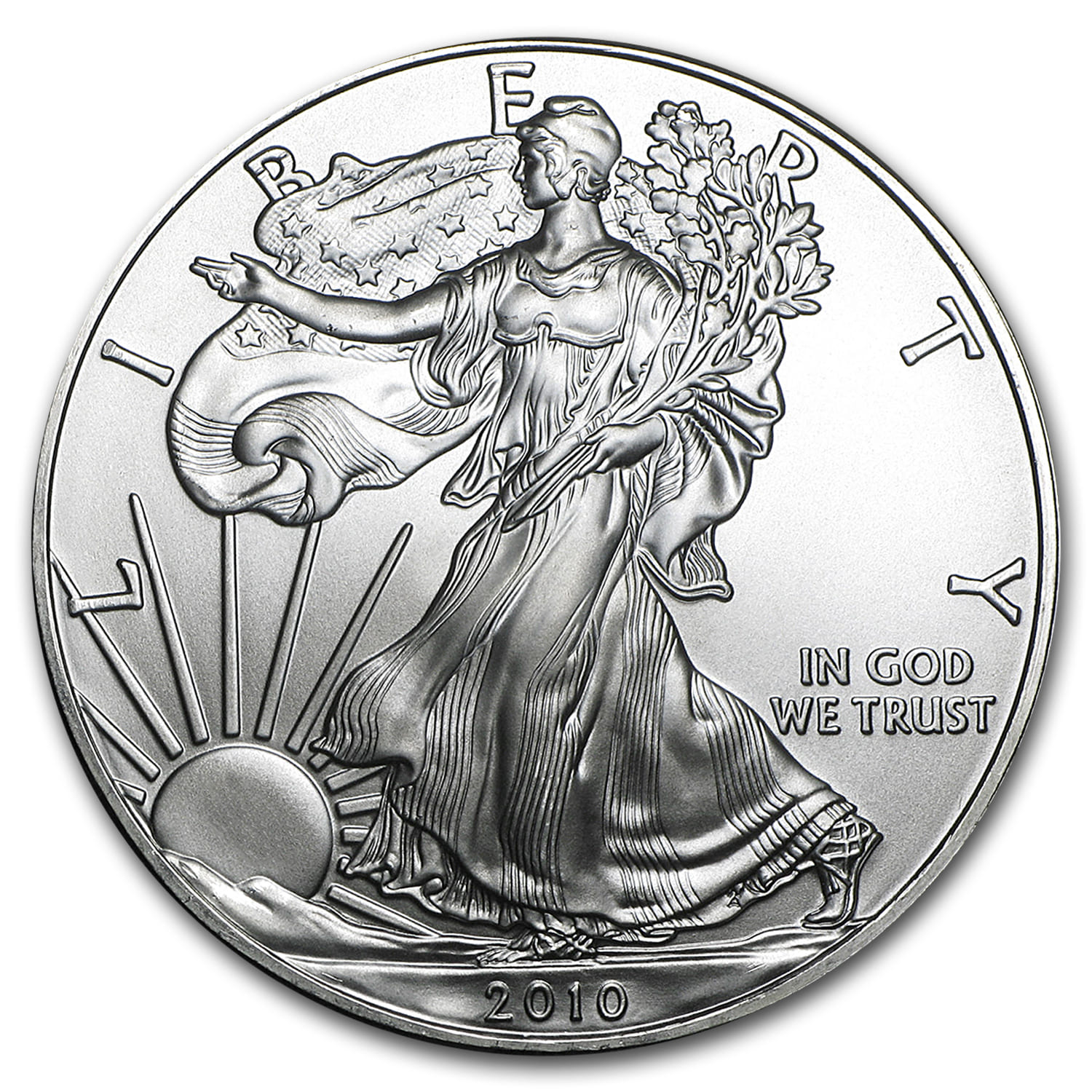 2010  Silver American Eagle 1oz .999 US Mint  $1  Coin