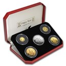 1996 Isle of Man Gold & Silver King Arthur Proof Set
