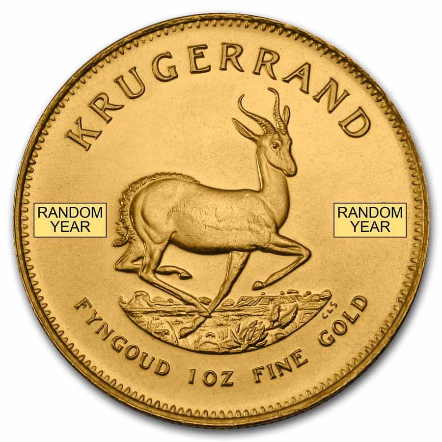 South Africa 1 Oz Gold Krugerrand