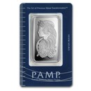 50 gram Silver Bar - PAMP Suisse (Fortuna, In Assay)