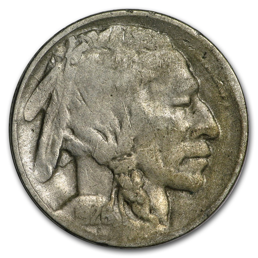 1926-D Buffalo Nickel Good