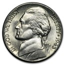 1943-D Silver Wartime Jefferson Nickel BU