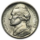 1943-S Silver Wartime Jefferson Nickel BU