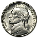 1945-S Silver Wartime Jefferson Nickel BU