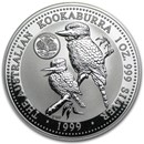 1999 AUS 1 oz Silver Kookaburra BU (Connecticut Quarter Privy)