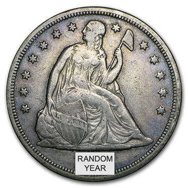Seated Liberty Dollar (1840-1873) obverse