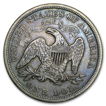 Seated Liberty Dollar (1840-1873)