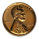 1960 Lincoln Cent Large Date Gem Proof (Red)