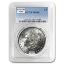 1878-1904 Morgan Dollars MS-65 PCGS