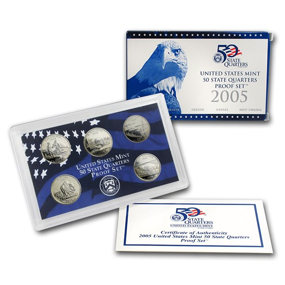 2005 50 State Quarters Proof Set