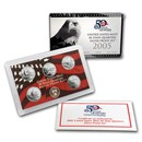 2005 50 State Quarters Proof Set (Silver)