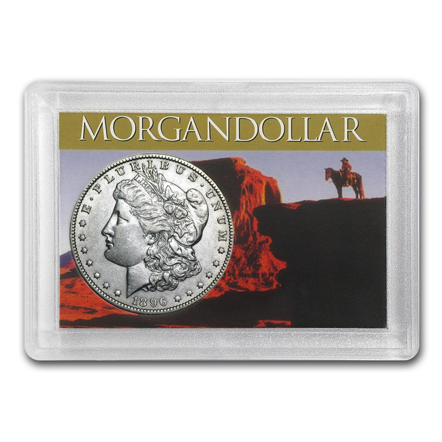 Morgan Silver Dollar Harris Holder (Southwest Design)