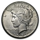 1927 Peace Dollar XF